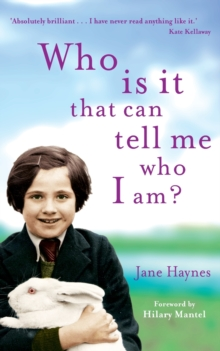 Who is it That Can Tell Me Who I Am?, Paperback Book