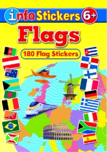 Flags : Info Stickers, Paperback Book