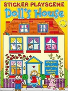 Dolls House Sticker Playscene, Mixed media product Book