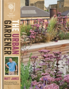 RHS the Urban Gardener, Hardback Book