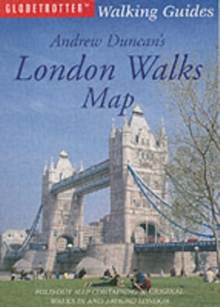 Andrew Duncan's London Walks Map, Sheet map, folded Book