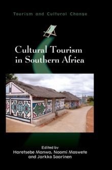 Cultural Tourism in Southern Africa, Hardback Book