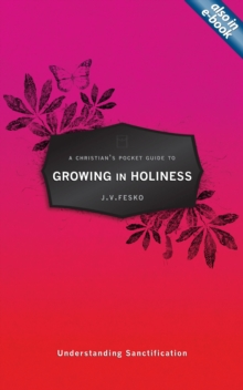 A Christian's Pocket Guide to Growing in Holiness : Understanding Sanctification, Paperback Book