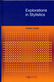 Explorations in Stylistics, Hardback Book