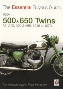 Bsa 500 & 600 Twins : The Essential Buyer's Guide, Paperback Book