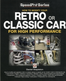 How to Modify Your Retro or Classic Car for High Performance, Paperback / softback Book