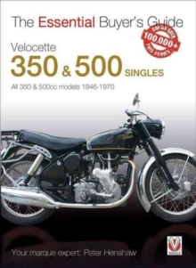 The Essential Buyers Guide Velocette 350 & 500 Singles, Paperback Book