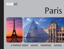 Insideout: Paris Travel Guide : Handy Pocket Size Travel Guide for Paris with 2 Popout Maps, Hardback Book