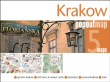 Krakow Popout Map : Handy Pocket-Size Pop Up City Map of Krakow, Sheet map, folded Book