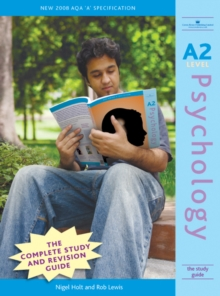 A2 Psychology : The Study Guide, Paperback Book