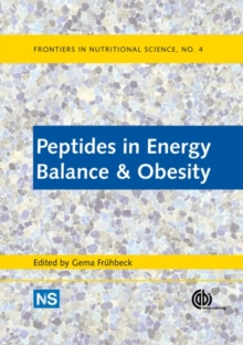 Peptides in Energy Balance and Obesity, Hardback Book