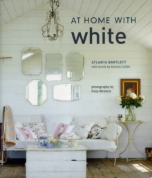 At Home with White, Hardback Book