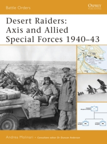 Desert Raiders : Axis and Allied Special Forces 1940-43, Paperback / softback Book