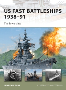 US Fast Battleships 1938-91 : The Iowa Class, Paperback Book
