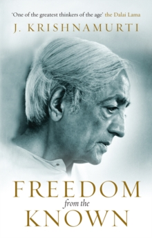 Freedom from the Known, Paperback / softback Book