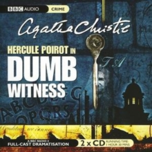 Dumb Witness, CD-Audio Book