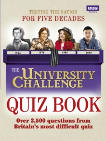 The University Challenge Quiz Book, Paperback Book