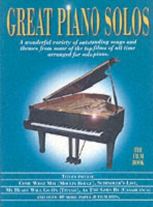 Great Piano Solos - The Film Book, Paperback Book