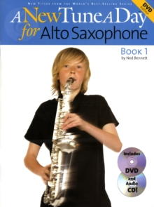 A New Tune A Day : Alto Saxophone - Book 1 (DVD Edition), Paperback Book