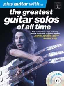 Play Guitar with... The Greatest Guitar Solos of All Time, Paperback Book