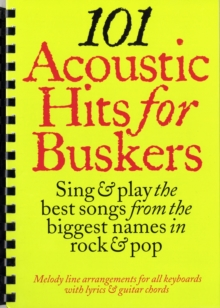 101 Acoustic Hits for Buskers, Paperback Book