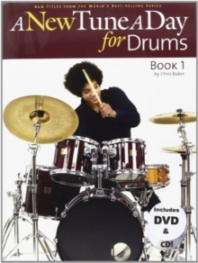 A New Tune A Day For Drums - Book One (Book, CD And DVD), Paperback Book