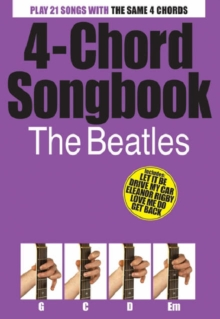 4-Chord Songbook : The Beatles, Paperback Book