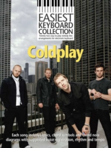 Easiest Keyboard Collection : Coldplay, Paperback Book