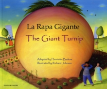 La rapa gigante - The giant turnip, Paperback / softback Book