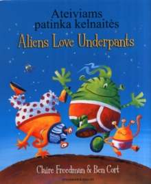 Aliens love underpants (Lithuanian/English), Paperback / softback Book