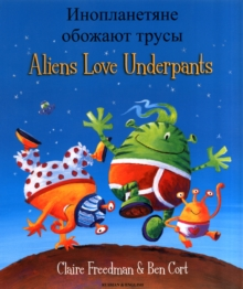 Aliens Love Underpants (English/Russian), Paperback / softback Book