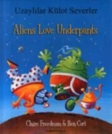 Aliens Love Underpants in Turkish & English, Paperback / softback Book