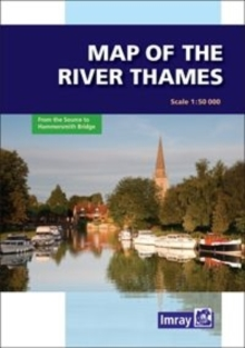 River Thames Map, Sheet map, folded Book
