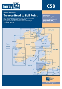 Imary Chart C58 : Trevose Head to Bull Point, Paperback Book