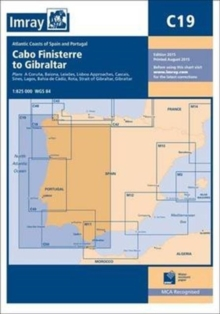 Imray Chart C19 : Cabo Finisterre to Gibraltar, Paperback Book