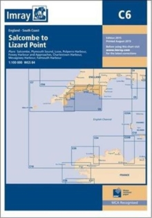 Imray Chart C6 : Salcombe to Lizard Point, Paperback Book