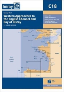 Imray Chart M18 : Western Approaches to the English Channel and Biscay, Southern Ireland to Northern Spain, Paperback Book
