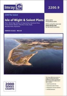 Imray Chart 2200.9 : Plans: Isle of Wight, Paperback Book