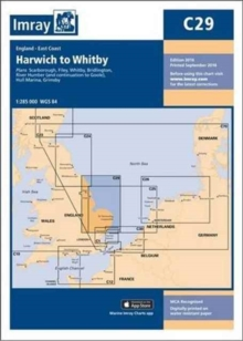 Imray Chart C29 : Harwich to Whitby, Paperback Book