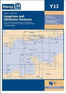 Imray Chart Y33 : Langstone and Chichester Harbours, Paperback / softback Book
