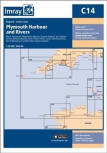 Imray Chart C14 : Plymouth Harbour and Rivers, Sheet map, folded Book