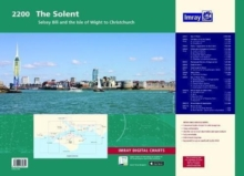 Imray Chart Atlas 2200 : Solent - Selsey Bill and the Isle of Wight to Christchurch, Sheet map, flat Book