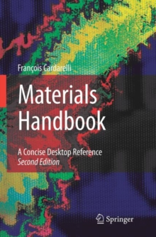 Materials Handbook : A Concise Desktop Reference, Hardback Book