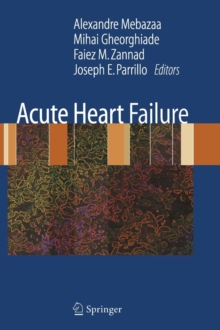 Acute Heart Failure, Hardback Book