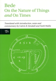 Bede: On the Nature of Things and On Times, Hardback Book