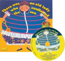 There Was an Old Lady Who Swallowed the Sea, Mixed media product Book