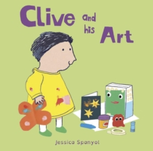 Clive and His Art, Board book Book