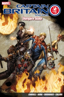 Captain Britain And Mi13: Vampire State, Paperback / softback Book