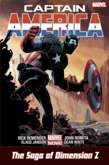 Captain America: Castaway In Dimension Z, Paperback Book