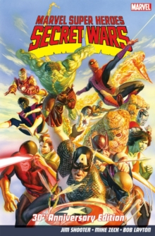 Marvel Super Heroes: Secret Wars 30th Anniversary Edition, Paperback Book